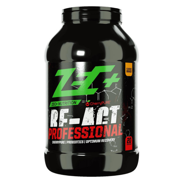 ZEC+ RE-ACT PROFESSIONAL POST WORKOUT SHAKE, VARI GUSTI 1700G