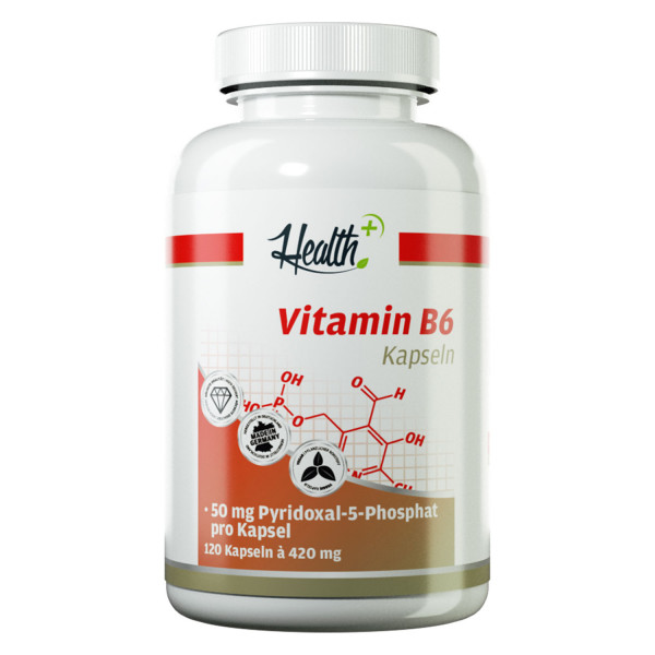 HEALTH+ VITAMINA B6 Capsule 50 mg, 120 capsule