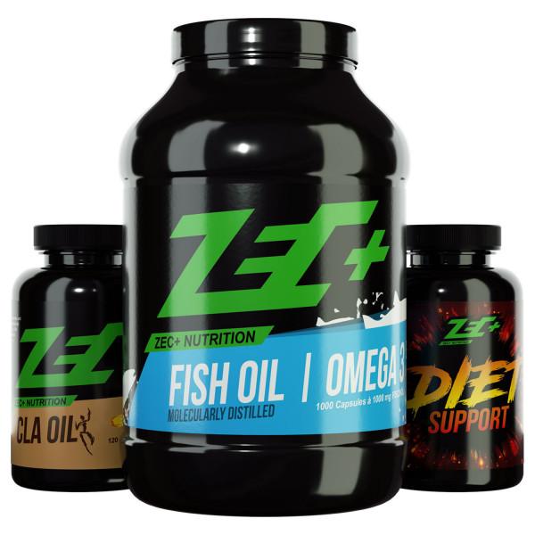 ZEC+ PACCHETTO FATBURNER Olio CLA, OMEGA 3 & DIET SUPPORT