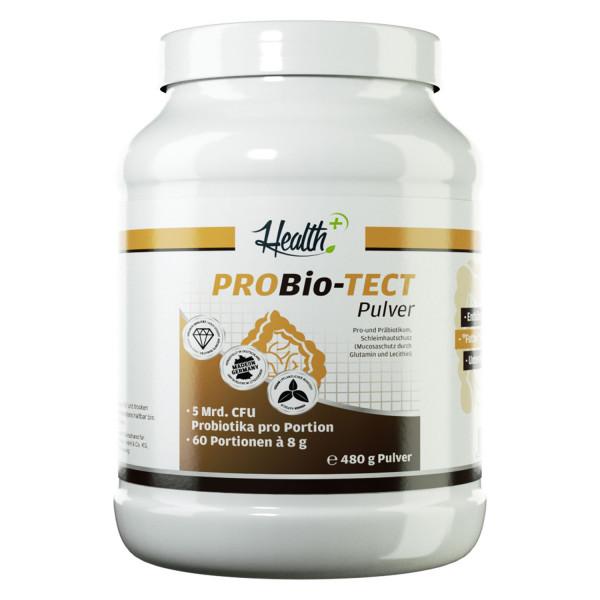 HEALTH+ PROBIO-TECT Polvere pre e probiotici, 480 g