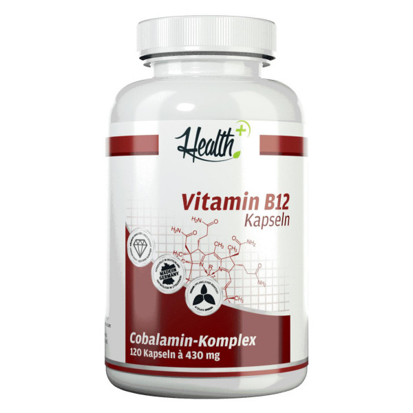HEALTH+ VITAMINA B12 1000 mcg, 120 capsule