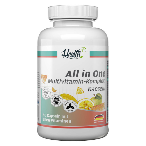 HEALTH+ ALL IN ONE Complesso Multivitaminico, 60 capsule