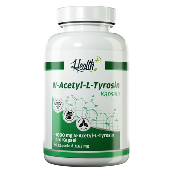 HEALTH+ N-ACETIL-L-TIROSINA Capsule 1000 mg, 60 capsule