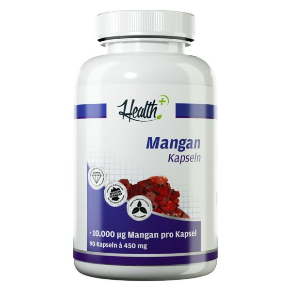 HEALTH+ MANGANESE Capsule 10 mg, 90 capsule