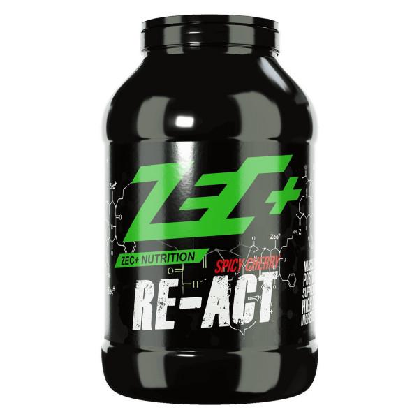 ZEC+ RE-ACT Post Workout Shake, vari gusti 1800g o 3600g