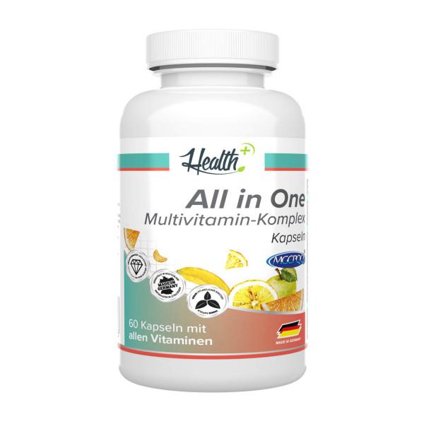 HEALTH+ ALL IN ONE Complesso Multivitaminico, 60 capsule