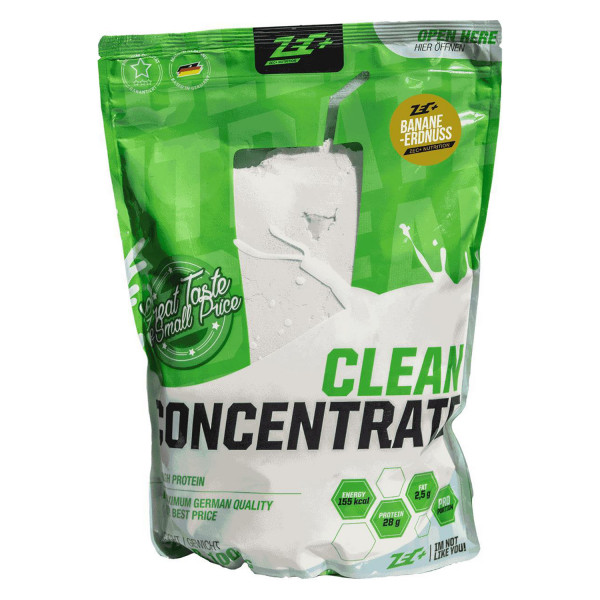 ZEC+ proteine CLEAN CONCENTRATE 1 Kg | vari gusti | proteine del siero concentrate